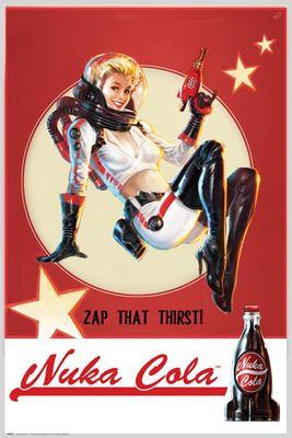 Fallout 4 Nuka Cola Poster