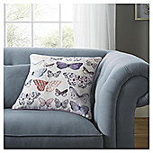Fox & Ivy Garden Butterfly Cushion