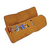 Faithfull Tool Roll 10 Pocket Leather