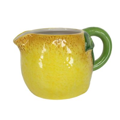 Lemon Ceramic Jug Milk Jug