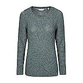 Mountain Warehouse Natalia Womens Knit Top ( Size: 18 )