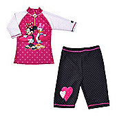 Disney Minnie Mouse & Daisy Duck UV Shirt and Shorts 5 to 6 Years