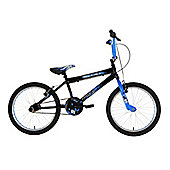 Zombie Outbreak Boys BMX Bike Black/Blue