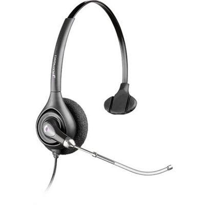 Plantronics SupraPlus Monaural Head-band Black headset