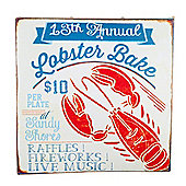 San Fran' Nautical 'Lobster Bake' Canvas Print Wall Art for the Home