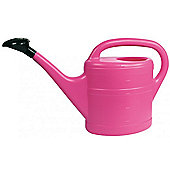 10L Garden Plant Watering Can By - Light Weight With Rose - Pink Colour