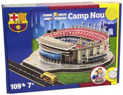 3D Puzzle Barcelona Camp Nou