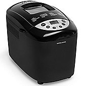 Andrew James Bread Maker, Dual Blade, 15 Functions Including Gluten Free, 850W - Black