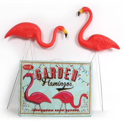 Buy Garden Flamingos from our Decorative Garden Animals range Tesco
