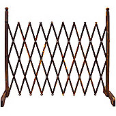 Trellis - Solid Wood Expanding Garden Screen - Tan Brown