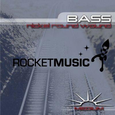 Rocket Nickel Bass String Set - Medium
