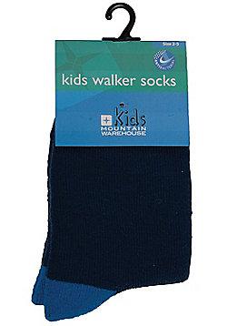 Kids Walker Socks - Blue