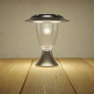 Henley Solar Pillar Lantern