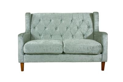 Oxford 3 Seater Sofa - Silver Crushed Velvet