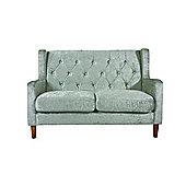 Oxford 3 Seater Sofa - Silver Crushed Velvet