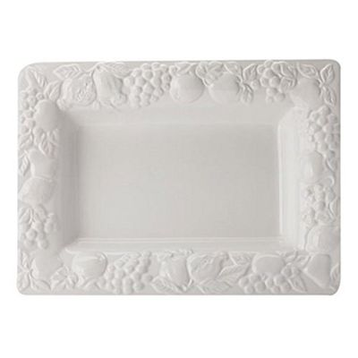Maxwell & Williams Fruit Garden Deep Rectangular Platter 40.5cm by 29.5cm