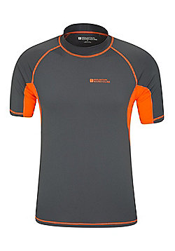Mountain Warehouse Mens UV Rash Vest - Grey