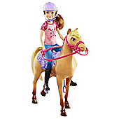 Barbie Camping Fun Stacie Doll & Horse Set