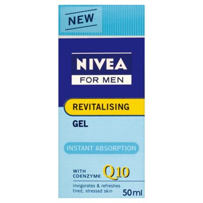 Nivea For Men Revitalising Q10 Gel 50ML.