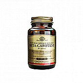 Solgar Natural Source Oceanic Beta-Carotene 7mg Softgels 60