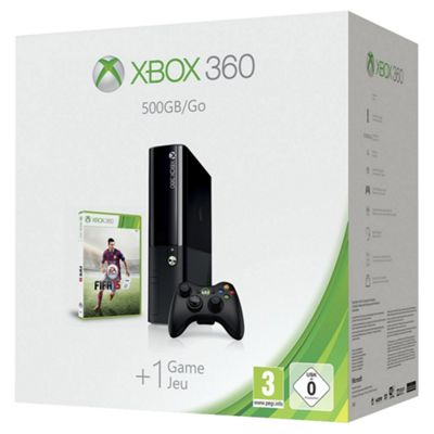 Xbox360 500GB Console and FIFA 15 bundle