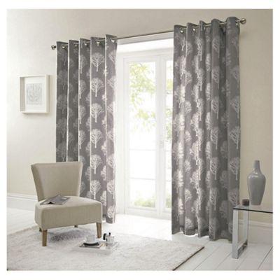 Woodland Eyelet Curtains W229xL183cm (90x72