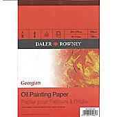 Daler Rowney Georgian Oil Pads 10X7 Inches - Art Store