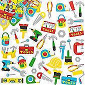 Tool Foam Craft Stickers (Pack of 120)