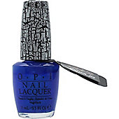 OPI Top Coat 15ml - Blue Shatter