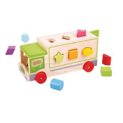 Bigjigs Toys Shape Sorting Lorry
