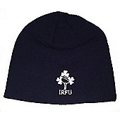 Canterbury Ireland Rugby Plain Beanie Hat 16/17 - Navy - Blue