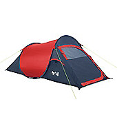 'The Original' Pop Up 2 Man Tent Red