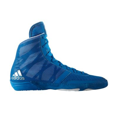 adidas Pretereo III Mens Adult Wrestling Trainer Shoe Boot Blue - UK 10
