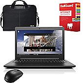 "Lenovo IdeaPad 700 - 80RU00EFUK - 15.6"" Laptop Intel Core i5-6300HQ 12GB 1TB+128GB SSD Win 10 with Internet Security, Mouse & Case"
