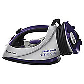 Russell Hobbs 18617 Ceramic Plate Steam Iron - Purple & White