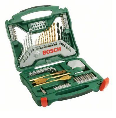 Bosch Titanium Drill and Screwdriver Set - 70 Pieces