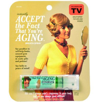Accept the Fact That You're Aging Breath Spray