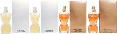 Jean Paul Gaultier Classique Gift Set 2 x 6ml EDT + 2 x 6ml Essence de Parfum For Women