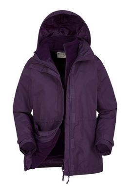 Mountain Warehouse Fell Womens 3 in 1 Water-Resistant Jacket Walking Hiking