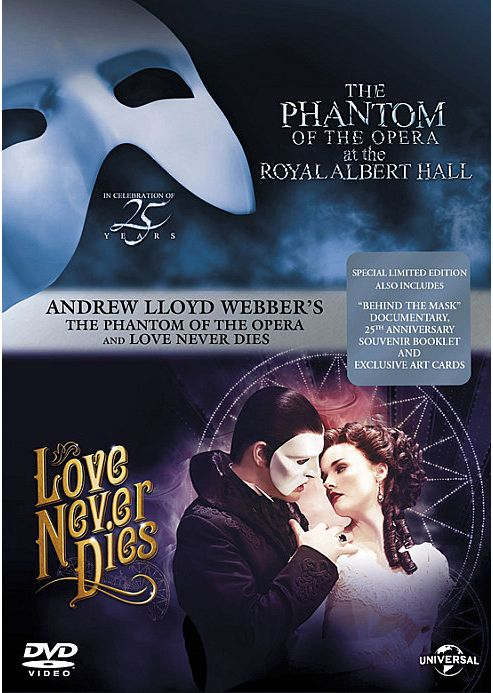 The Phantom Of The Opera / Love Never Dies (Box-Set) (DVD Boxset)