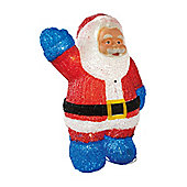 50cm Motion Activated Illuminated Santa Christmas Ornament