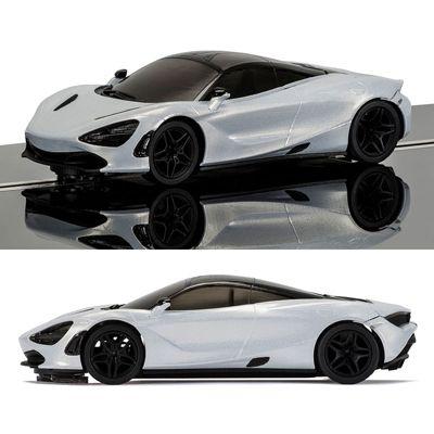 SCALEXTRIC Slot Car C3892 McLaren 720S - Glacier White