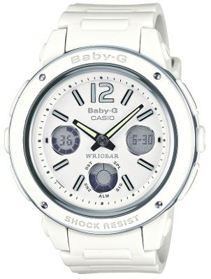 Casio White Baby-G Bracelet Watch BGA-150-7BER