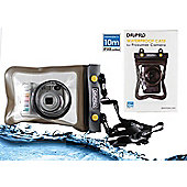 Navitech Black Waterproof Underwater Housing Case Dry Bag For The Canon IXUS 145 / Canon PowerShot SX710 HS