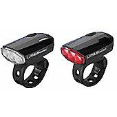BBB BLS-48 - SparkCombo Front & Rear Light Set (Black)