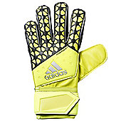 adidas Ace Fingersave Replique Goalkeeper Goalie Glove Yellow - Yellow