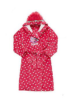 DreamWorks Trolls Heart Print Dressing Gown - Pink