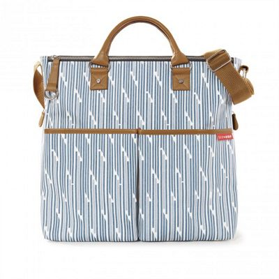 Skip Hop Duo Special Edition Changing Bag - Blueprint Stripe