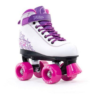 Vision II Purple Quad Skate - Size 4