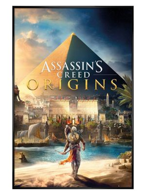 Assassins Creed Gloss Black Framed Origins Poster 61 x 91.5cm